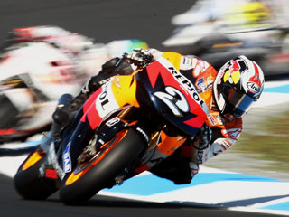 Motorcycle Grand Prix in Valencia 2011
