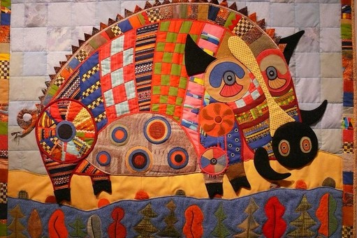 Internationale Patchwork Messe in Sitges