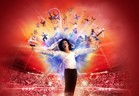 The Cirque du Soleil pays tribute to Michael Jackson