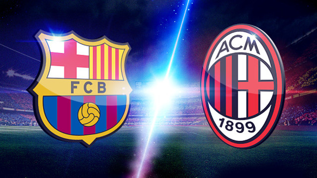 Champions League 2013, Barcelona vs Milan