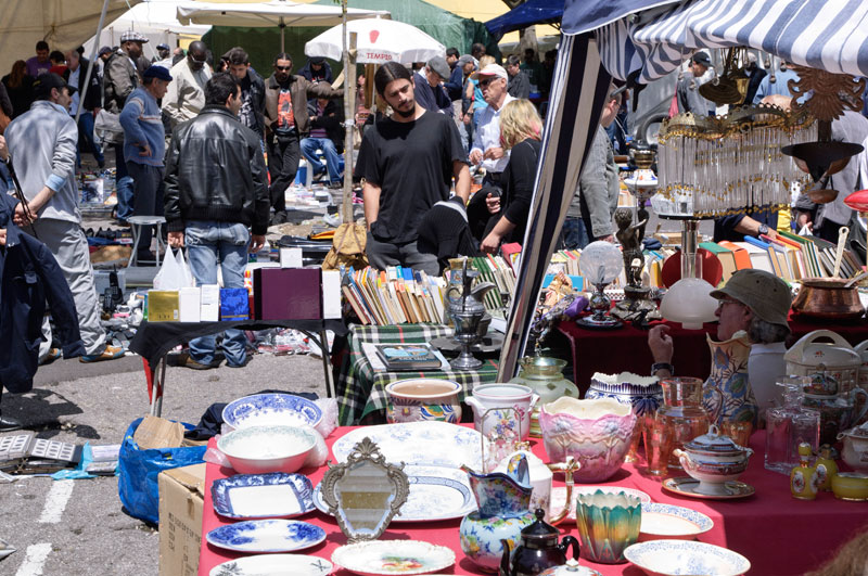 Shopping at the Markets in Lisbon