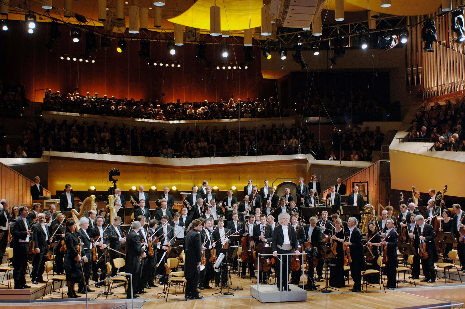 Berlin Philharmonic Orchestra and the Philharmonie