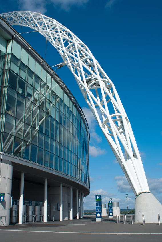 World class football for less at the Wembley Stadium Family Enclosure