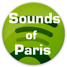 Playlist Sounds of Paris