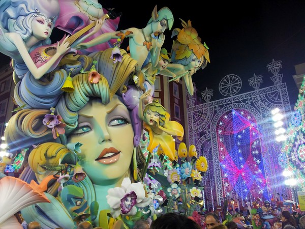 Las Fallas in Valencia in pictures