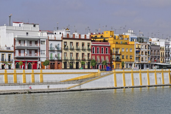 The Triana neighbourhood in Seville