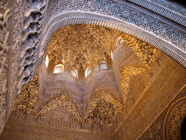 The Alhambra in Granada, the most popular site in Spain