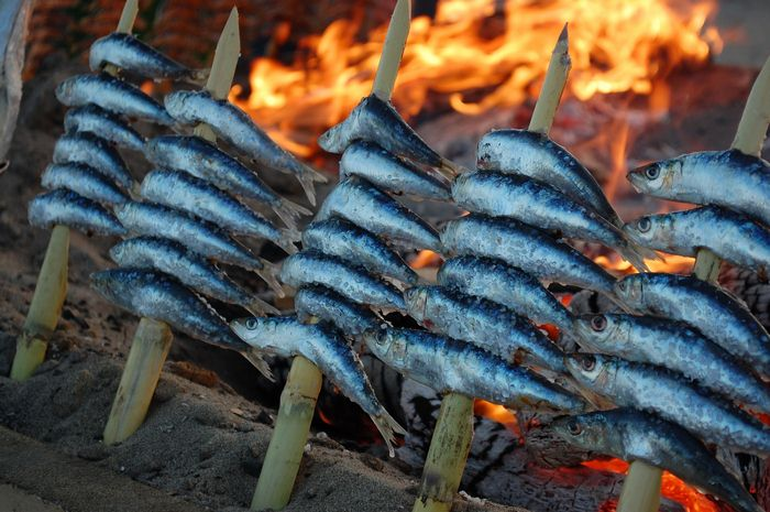 The Best Spit-Roasted Sardines in Málaga