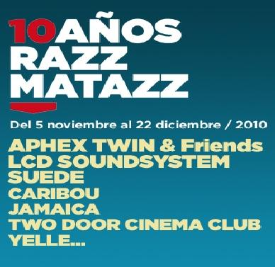 10th Anniversary of Razzmatazz in Barcelona