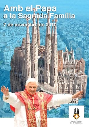 Visit of Pope Benedict XVI to Barcelona in 2010