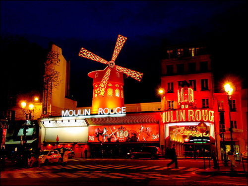 A night out on the town – or city of Paris to be precise