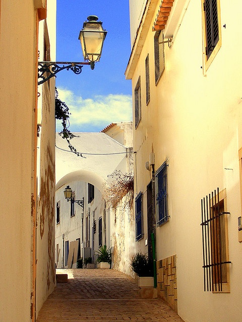 The picturesque Old Town