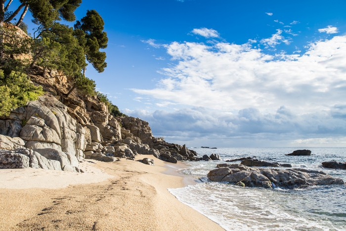 Nudist beaches Costa Brava