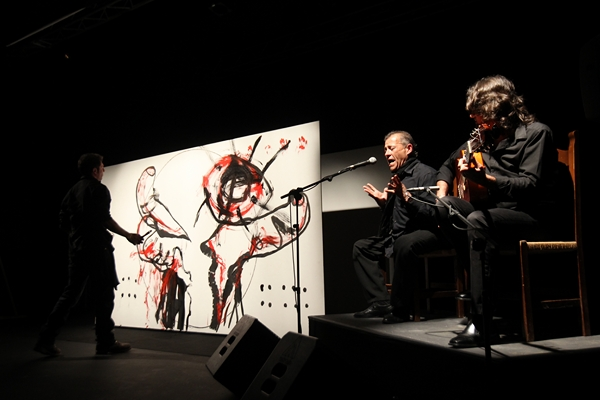A plastic arts experience with flamenco