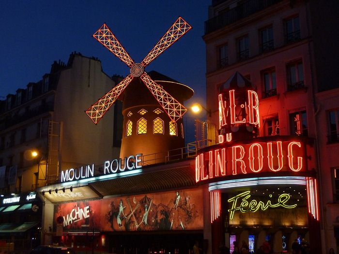 Moulin Rouge, Montmartre, Paris