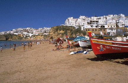 Fisherman's beach, Algarve